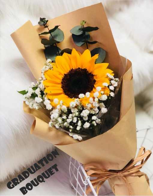 Single Sunflower Bouquet